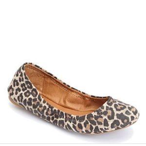 Shoes - Lucky Brand Emmie Leopard Print Ballet Flats